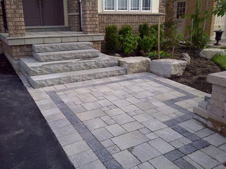 Front Step Design | Steps for Home - Bancheri Bros
